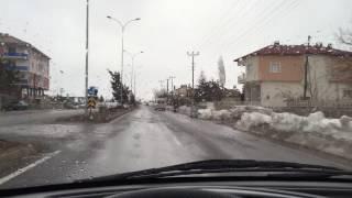 Konya Seydişehir Sokaklarından bir küçük gezinti. 02.03.2017