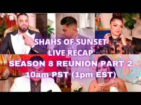 Shahs Of Sunset Season 8 Reunion Part 2 LIVE RECAP!