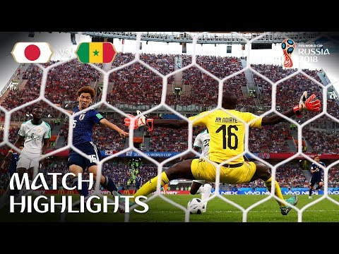 Japan v Senegal - 2018 FIFA World Cup Russia™ - Match 32 (видео)