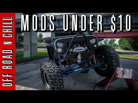 3 Jeep Wrangler Mods Under 10 Cheap Jeep Mods Easy Jeep Jk Mods