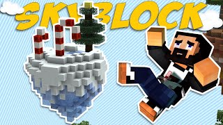 Minecraft Skyblock - EP11 - Christmas PVP! (ChaosCraft)