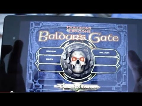 baldur's gate enhanced edition android review