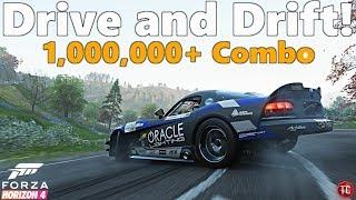 Forza Horizon 4: Formula Drift Viper Gameplay   Test Drive, Drift and 1,000,000+ Point Combo!