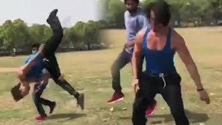 Video RAMBO Tiger Shroff Stunts Practice MP3, 3GP, MP4, WEBM, AVI, FLV Januari 2019