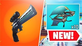 *NEW* Sniper Scoped Revolver + Redeploy Item! (Fortnite v7.20 Patch Notes)