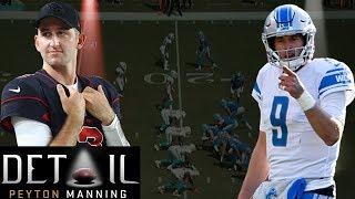 Peyton Manning Analyzes Matt Stafford's & Josh Rosen's Pre-snap Reads by NFL