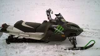 1. For Sale 2004 Arctic Cat F7 Firecat EFI EXT 144 Monster Energy