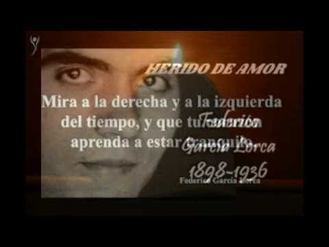 Poesias de amor - HERIDO DE AMOR. ( Poesia de Gracia Lorca ) CANTA. Jesus Bernal Rivas