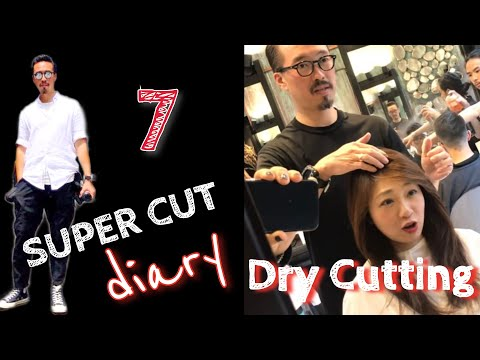 Super Cut #7 - Cutting Dry Hair vs Dry Hair Cutting