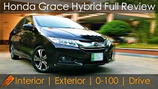 Honda Grace (New City) Hybrid Review in Pakistan [2018]