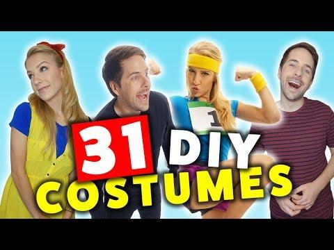 31 LAST MINUTE DIY HALLOWEEN COSTUMES