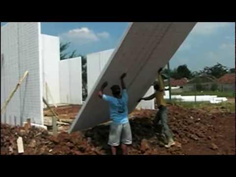Cara Pemasangan Dinding Panel