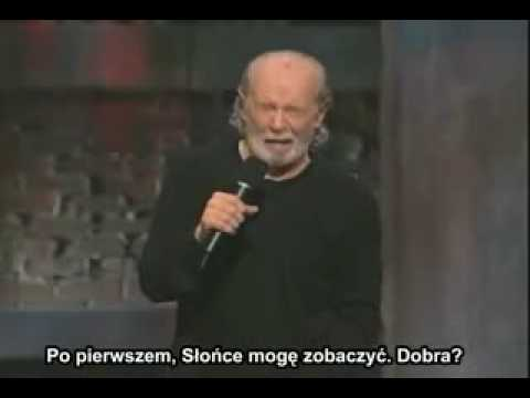 George Carlin o Religii i Bogu