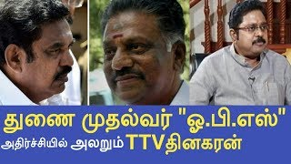 Tamil nadu new joint chief Minister o.panneerselvam. He sworn joint chief Minister cum tn financial Minister. Chief Minister ...