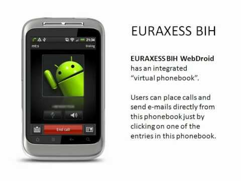 Video of EURAXESS BIH WebDroid