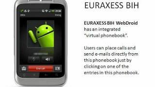 EURAXESS BIH WebDroid YouTube video