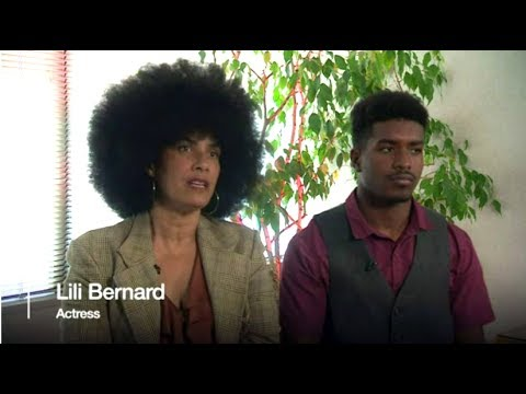 Cosby Accuser Lili Bernard & Son BBC Interview 6-5-2017