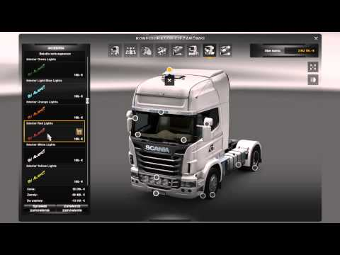 Interior lights for all trucks Fix