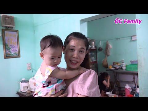Mẹ ỐC tham gia làm cá chép om Thái ^^