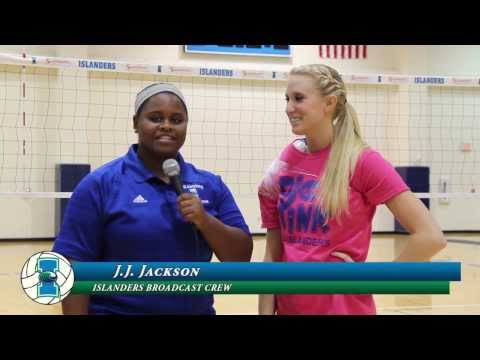 Islanders Volleyball Sweeps Nicholls State