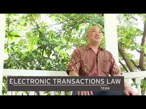 Electronic Transaction Law