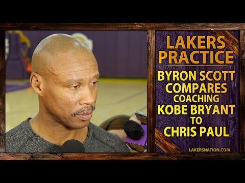Video: Lakers Practice: Byron Scott Compares Kobe Bryant To Chris Paul