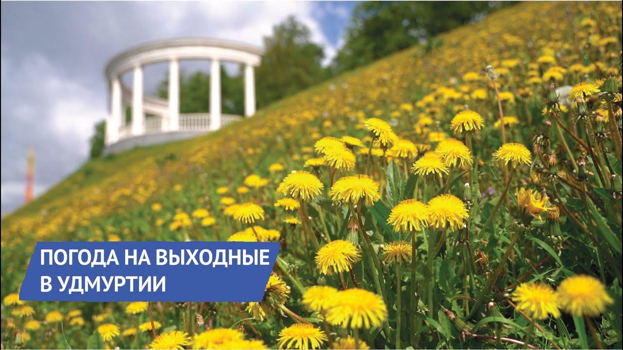 Погода в Удмуртии на выходные с 23 по 24 мая