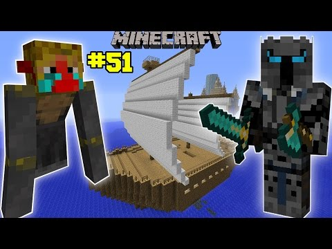 Minecraft: INSANE MONKEY SHIP ATTACKER CHALLENGE [EPS6] [51]