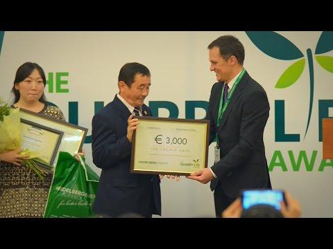 Краткий отчет о церемонии вручения премии Quarry Life Award