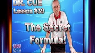 APA Dr. Cue Lesson 39 - Simple Formula For Fine Tuning Mechanics!!
