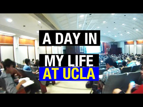 A DAY IN MY LIFE AT UCLA | Back to School