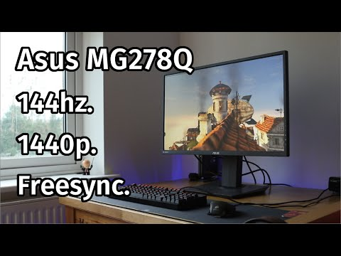 Asus MG278Q Freesync Monitor Review