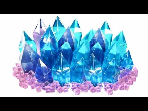 DIY Gemstone Crystals Jelly! Gem Jewelry Pudding Jelly | MonsterKids