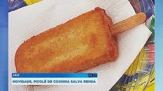 Picolé de coxinha salva a renda de microempresário em Jaú