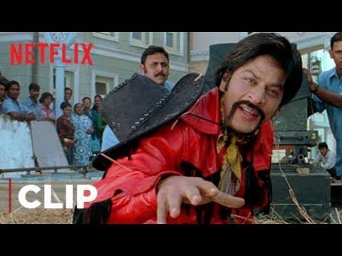 Shah Rukh Khan Funny Scene | Yenna Rascala, Mind It! | Om Shanti Om | Netflix India