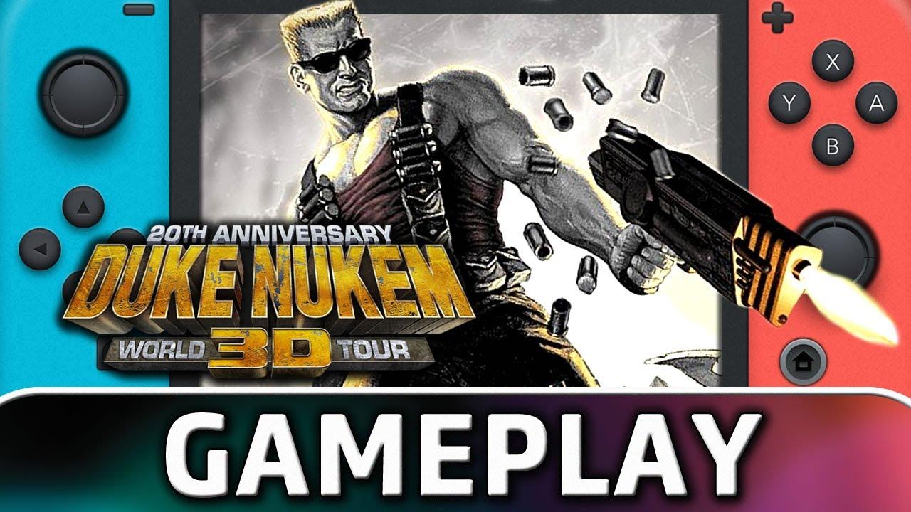 Duke Nukem 3D: 20th Anniversary World Tour | Nintendo Switch Gameplay