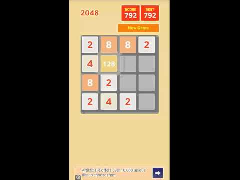 Video of 2048 Droid