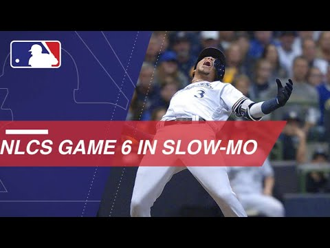 Video: Watch FOX's slo-mo footage of Game 6 of the NLCS