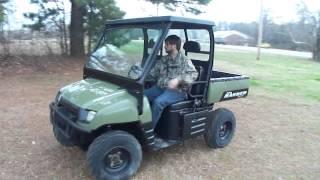 4. 2007 Polaris 700 xp Ranger