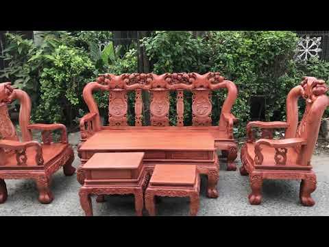 Salon gỗ Hương Đá cao cấp tại ĐỒ GỖ CƯỜNG NGA