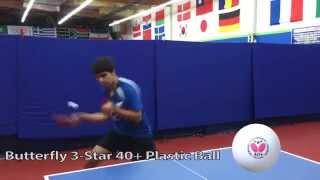 3-Star 40+ Plastic Ball featuring Kunal Chodri