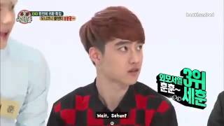 Download Video [ENGSUB] 130814 EXO WI CUT! Handsomest ranked by D.O MP3 3GP MP4