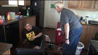 PICKLEBOY BREAKS GRANDPA'S CHAIR!