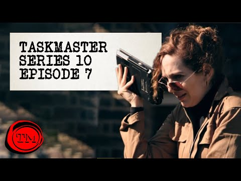 "Taskmaster - Series 10, Episode 7 | Full Episode | ""Legit Glass"""