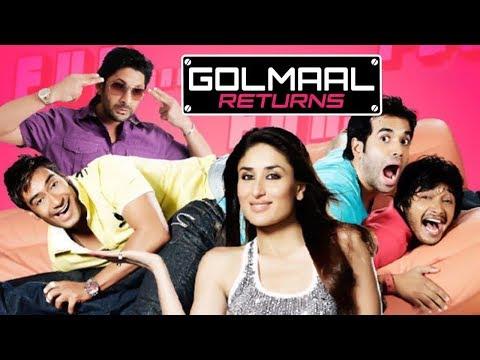 Golmaal Returns (HD)   Ajay Devgan   Kareena Kapoor   Arshad Warsi   Bollywood Latest Movie
