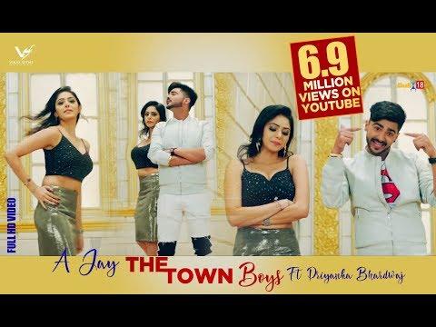 The Town Boys || A-Jay Ft. Priyanka Bhardwaj & LOC || G Skillz || VS Records || Latest Punjabi Songs