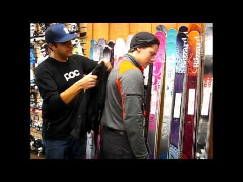 Ski Racing Protection: How to size a back protector