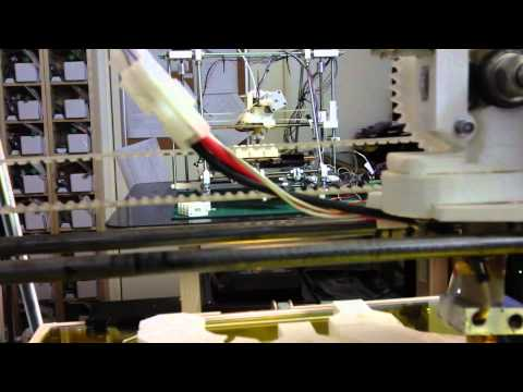 Reprap 3D Printers in Action HD