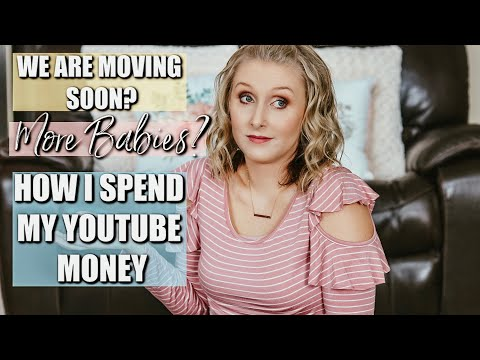 BIG CHANGES/ MOVING SOON |HOW I SPEND MY YOUTUBE MONEY| JESSI CHRISTINE
