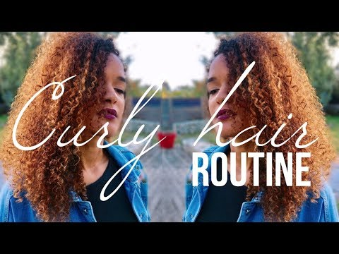 ROUTINE CAPILLAIRE CURLY HAIR   COLORATION, SOINS & ACCESSOIRES